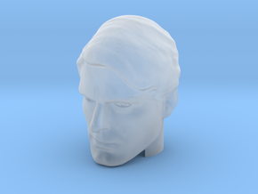 Superman head | Christopher Reeve in Smooth Fine Detail Plastic