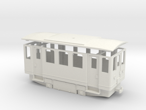 AE1s simplified electric railcar / Elettromotrice  in White Natural Versatile Plastic