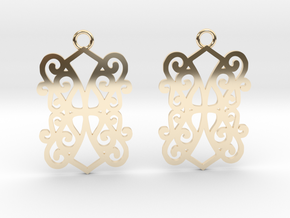 Ealda earrings in 14K Yellow Gold: Small