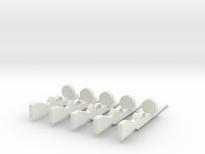 Ppsh41set in White Natural Versatile Plastic