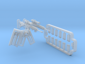 1/35 M110 SASS set MSP35-084 in Smooth Fine Detail Plastic