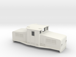 Swedish SJ accumulator locomotive type Öb - H0-sca in White Natural Versatile Plastic