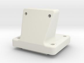 D216_shock_tower_mount_sh in White Natural Versatile Plastic