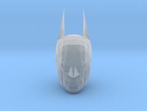 Batman Head in Smooth Fine Detail Plastic