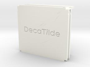 Switch game storage controller (set) in White Processed Versatile Plastic