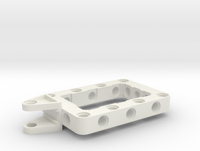 LEGO WING BRACKET in White Natural Versatile Plastic