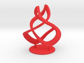 Koos Knoopje 2 in Red Processed Versatile Plastic