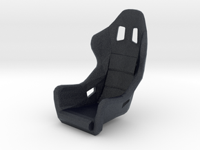 Race Seat - FType - 1/24 in Black Professional Plastic