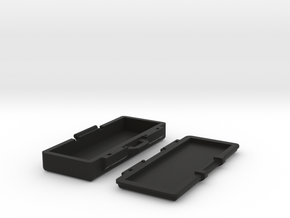 1Tenth Scale Hinged Rifle Case in Black Natural Versatile Plastic
