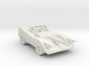 Deathrace 2000 Turbo Mcjoe 160 scale in White Natural Versatile Plastic