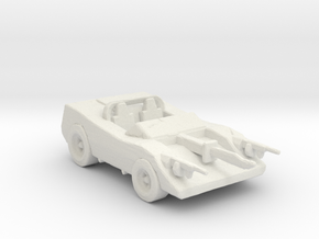 Deathrace 2000 Turbo Mcjoe 285 scale in White Natural Versatile Plastic