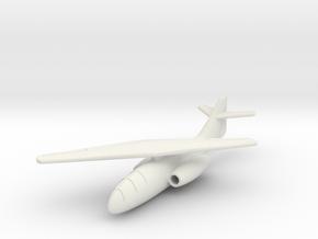 (1:144) Messerschmitt Me P.1109 (Single Wing) in White Natural Versatile Plastic