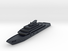 Miniature Rising Sun Yacht - 10cm in Black PA12