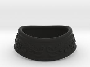 Paladin bracelet in Black Natural Versatile Plastic: Small
