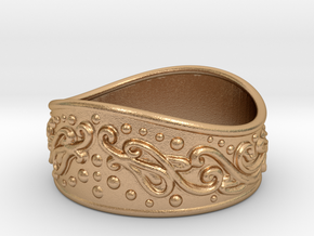 Knight bracelet in Natural Bronze: Extra Small