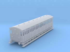 o-148fs-metropolitan-8w-short-brake-coach in Smooth Fine Detail Plastic