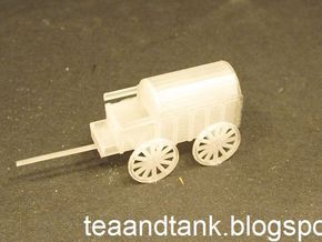 1/144 horse drawn cart German Wehrmacht in Smooth Fine Detail Plastic