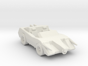 Deathrace 2000 The Bull 285 scale in White Natural Versatile Plastic