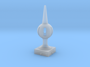 Signal Finial (Pierced Ball) 1:24 scale in Smooth Fine Detail Plastic