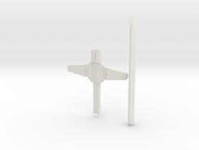 POTP Titan Predaking Sword in White Natural Versatile Plastic