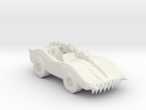 Deathrace 2000 The Monster 285 scale in White Natural Versatile Plastic