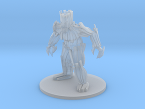 Wood Golem in Smooth Fine Detail Plastic