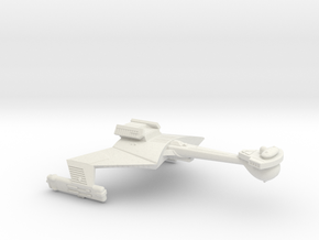 3788 Scale Klingon C7B Heavy Battlecruiser WEM in White Natural Versatile Plastic
