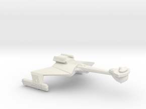 3125 Scale Klingon C7B Heavy Battlecruiser WEM in White Natural Versatile Plastic