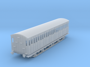 o-148fs-metropolitan-8w-short-brake-coach-mod in Smooth Fine Detail Plastic