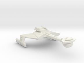 3788 Scale Klingon C7K Heavy Battlecruiser WEM in White Natural Versatile Plastic