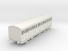 o-76-metropolitan-8w-composite-coach-mod in White Natural Versatile Plastic