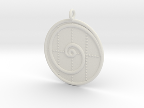 Mathematics Symbol  in White Premium Versatile Plastic