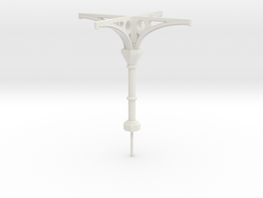 C3 Column in White Natural Versatile Plastic