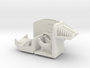 Complete Interior Kit for Imperial Knight in White Natural Versatile Plastic