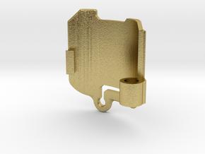 Graflex Master - Part8 - RP Cap in Natural Brass