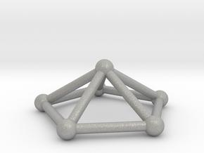 0723 J02 Pentagonal Pyramid V&E (a=1cm) #2 in Aluminum