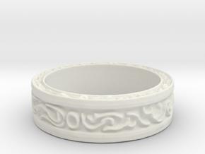 DarkMoon Ring Dark Souls in White Natural Versatile Plastic: 5 / 49