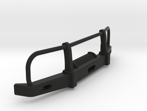 RC Toyota Hilux Bullbar 1:24 scale in Black Natural Versatile Plastic