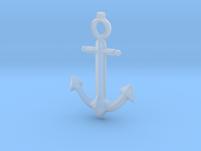 Anchor Pendant - Jaina - World of Warcraft in Smooth Fine Detail Plastic