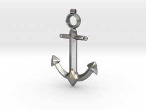 Anchor Pendant - Jaina - World of Warcraft in Natural Silver
