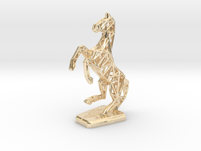 Horse in 14K Yellow Gold