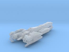 UNSC Nevada Light cruiser 3cm version in Smooth Fine Detail Plastic