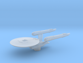 USS Enterprise (Discovery) - Attack Wing / 5.5cm - in Smooth Fine Detail Plastic