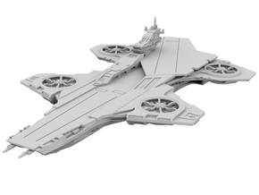 Avengers - Hellicarrier (180mm for WSF) in White Strong & Flexible