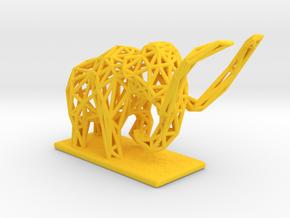 Mammoth in Yellow Processed Versatile Plastic