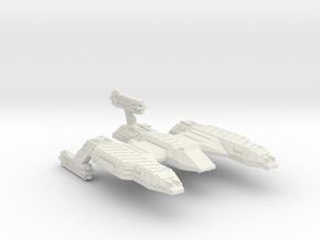 3788 Scale Lyran Refitted Desert Lion CVN in White Natural Versatile Plastic
