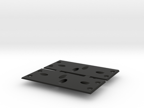 VS410 Slider Rock Light Slid Plate 5mm LEDs in Black Natural Versatile Plastic