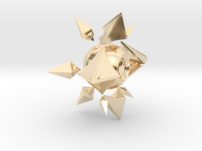 Sagiras Ghost Shell in 14K Yellow Gold