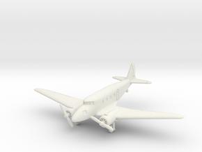 Nakajima Ki-34 Thora 1/144 in White Natural Versatile Plastic