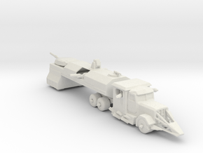 Death Race Dreadnought 160 scale in White Natural Versatile Plastic